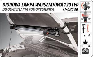 Lampa Pentru Capota YATO, Reincarcabila, 120led, 200cm [2]