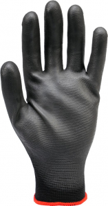 Manusi protectie YATO, nylon/cauciuc, marimea 10, negru2