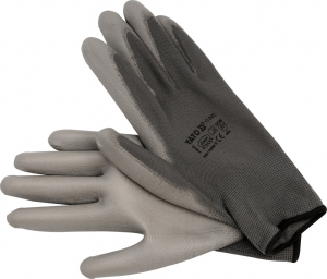 Manusi protectie YATO, nylon/PU, marimea 10, gri0