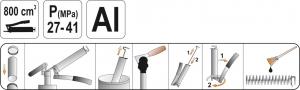 Masina de Gresat YATO Aluminiu [1]
