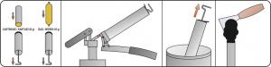 Masina de Gresat YATO, cu Variator de Presiune, 500CM3 [3]