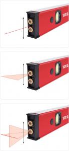 Nivela cu Laser YATO, Electronica, 610mm4