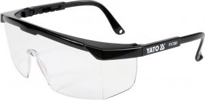 Ochelari de protectie YATO, brate reglabile, protectie UV, clasa 10