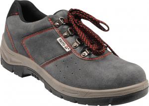 Pantofi de protectie YATO piele, 200J, gri0