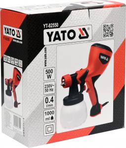Pistol electric de vopsit YATO, 500W, rezervor 1L [2]