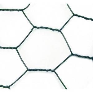 Plasa sarma rabitz VENUS DSH, zincata-plastifiata, 1.0mm, 1.0X25m1