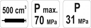Pompa Manuala YATO, Pentru Extragerea Uleiului, 500ml4