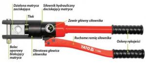 Presa Hidraulica YATO, Pentru Sertizat, 8T, 10 - 120mm [4]