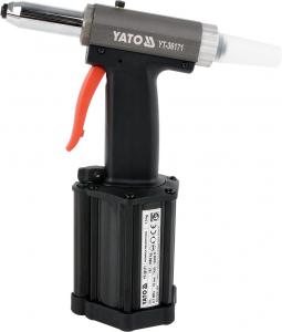 Presa Pneumatica YATO, Pentru Nituit, 2.4 - 5mm, 1060kg0