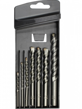 Set Burghie Pentru Beton YATO, Cilindrice, 4 - 12mm, 7buc [0]