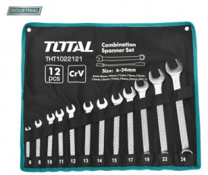 Set Chei Combinate TOTAL, CR-V, 6-24mm, 12buc, INDUSTRIAL0