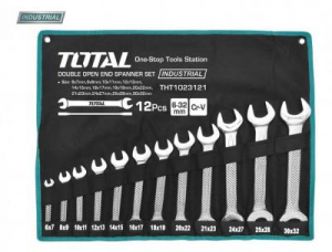 Set Chei Fixe TOTAL, CR-V, 6 - 32mm, 12 buc, INDUSTRIAL0