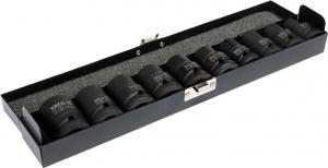 Set Chei Tubulare YATO, de Impact, 10 - 22mm, 1/2 Inch, 10buc [1]