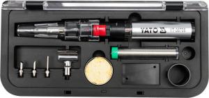 Set ciocan de lipit cu gaz YATO, piezo, 30ml, 30 - 125W, 7piese [1]