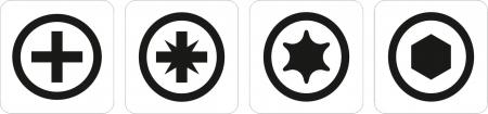 Set YATO, profesional, biti-adaptoare-tubulare [4]