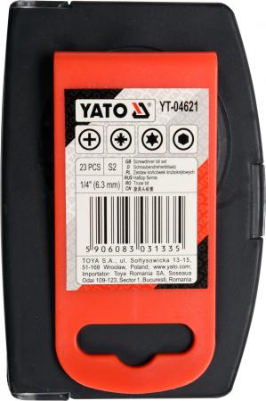 Set YATO, profesional, biti-adaptoare-tubulare [3]