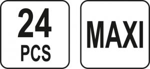 Set YATO, Sigurante Auto, 24 buc, MAXI [2]