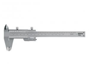 Subler Inox YATO, 150mm, Precizie 0.02mm0