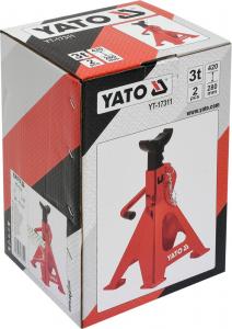 Suport Capra Auto YATO, 3T, 2buc [1]