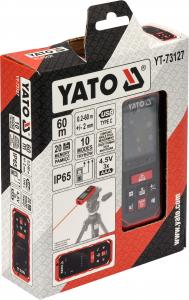 Telemetru cu Laser YATO, 0.2 - 60m3