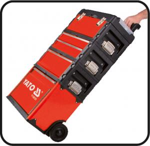 Troler Pentru Scule YATO, Capacitate 45kg, 520 X 320 X 720mm3