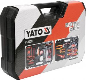 Trusa Scule Electrician YATO, 68 Piese2