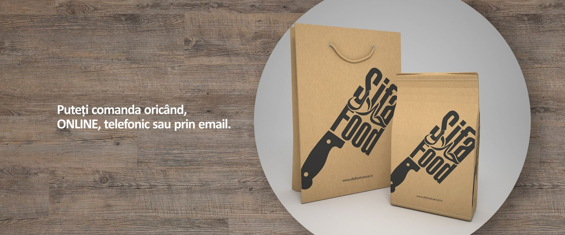 Comanda Online, telefonic sau prin email