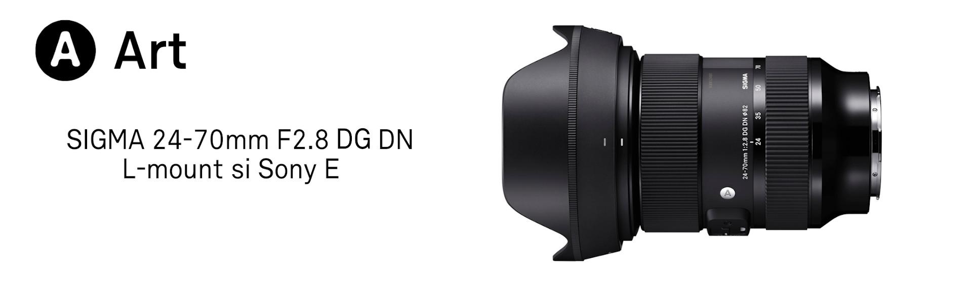 Sigma 24-70 F2.8 Sony E si L-Mount
