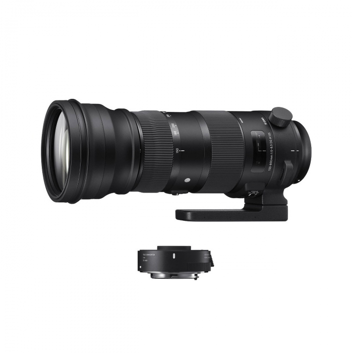 150-600mm F5-6.3 OS HSM (S) Kit cu Teleconvertor TC1.4x 0