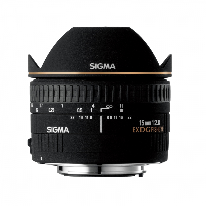 SIGMA 15mm F2.8 EX DG DIAGONAL FISHEYE 0