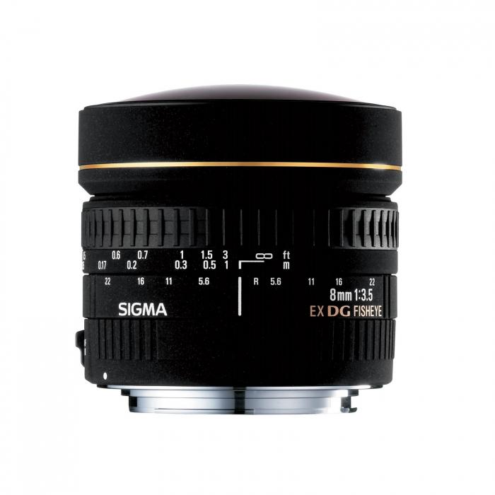 8mm F3.5 EX DG CIRCULAR FISHEYE 0