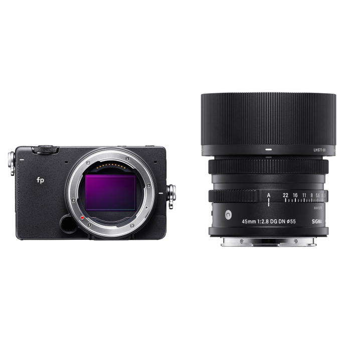 FP Digital Mirrorless Camera Kit cu Obiectiv 45mm F2.8 DG DN 0
