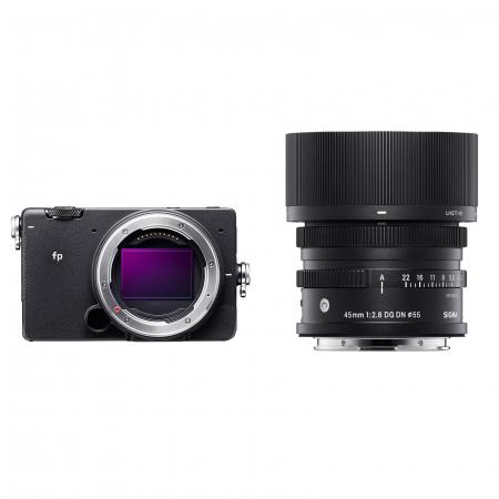 FP Digital Mirrorless Camera Kit cu Obiectiv 45mm F2.8 DG DN0