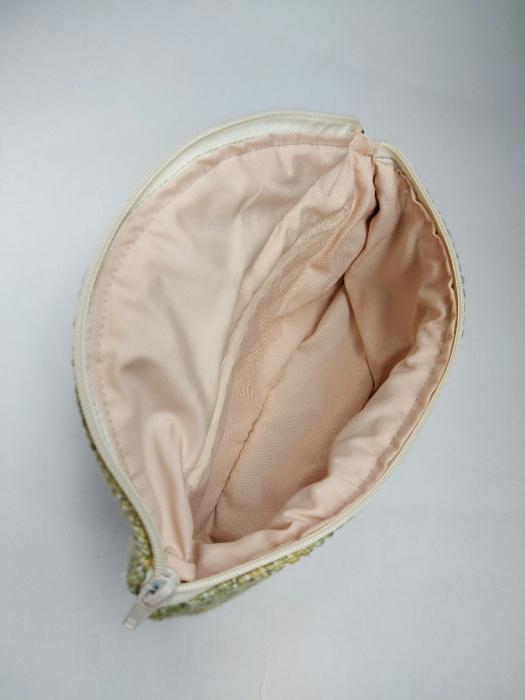 Borseta handmade tesuta manual la razboiul de tesut [5]