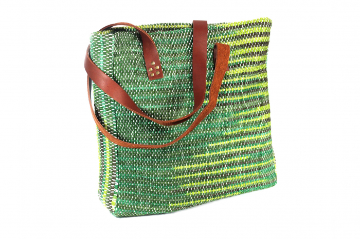 Geanta handmade model verde [4]