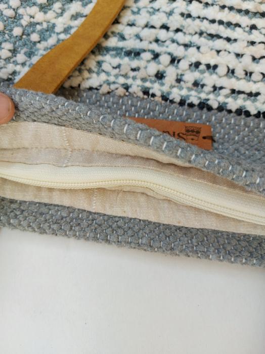 Geanta handmade model gri [2]