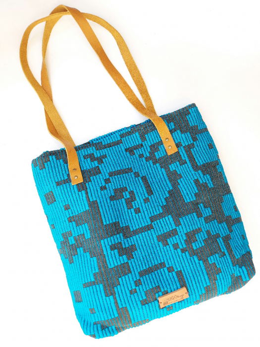 Geanta handmade model bleu [0]