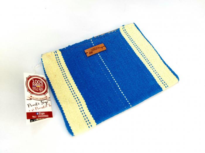 Portfard portofel tesut manual la razboi [0]