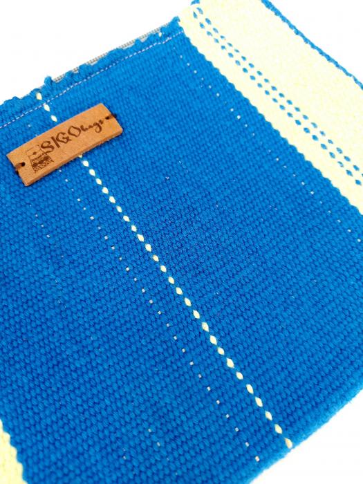 Portfard portofel tesut manual la razboi [2]