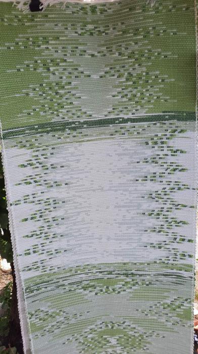 Preș tesut manual la războiul de țesut 60x125 cm [0]