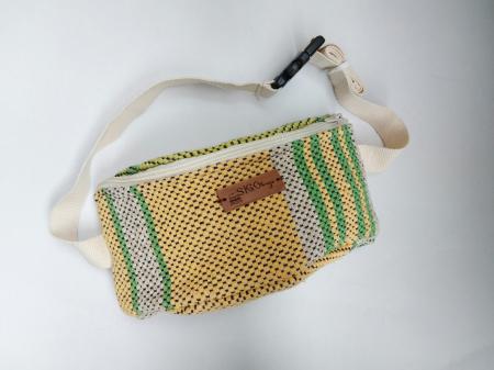 Borseta handmade tesuta manual la razboiul de tesut [4]