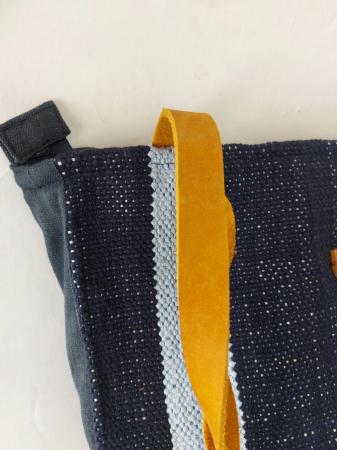 Geanta handmade de umar model bleu jeans reciclat [2]
