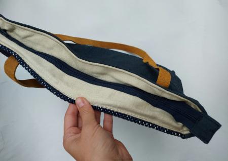 Geanta handmade de umar model bleu jeans reciclat [3]