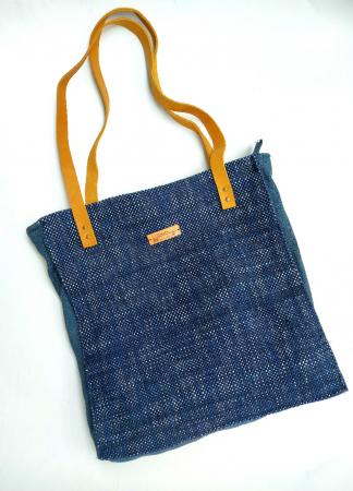 Geanta handmade de umar model bleu jeans reciclat [0]