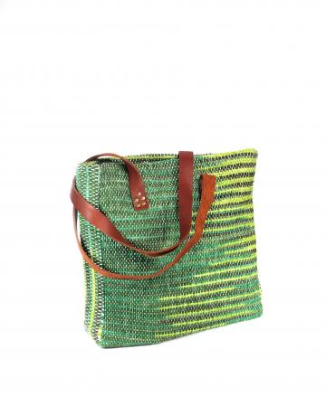 Geanta handmade model verde [9]