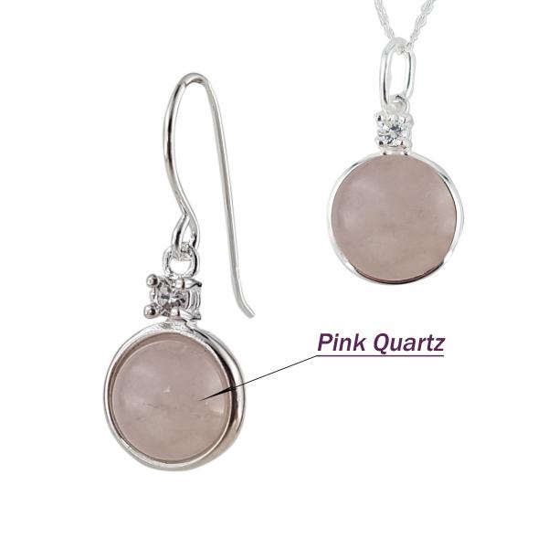 Set Argint 925% Round Pink [2]