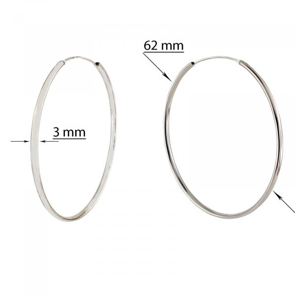 Creole Argint 925%  de 62mm diametru [2]
