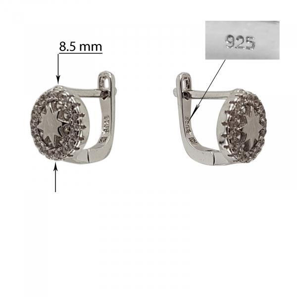 Cercei Argint 925% Silver Star [2]
