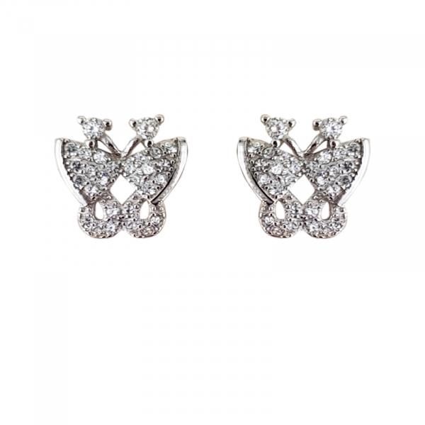 Cercei Argint 925% Cute Wing [0]