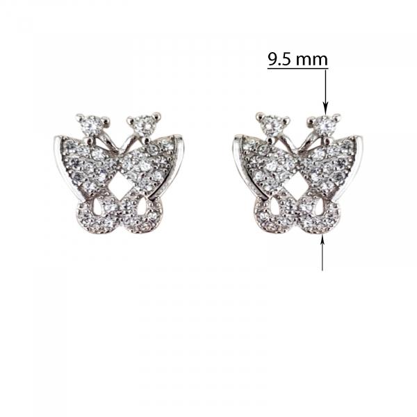 Cercei Argint 925% Cute Wing [2]